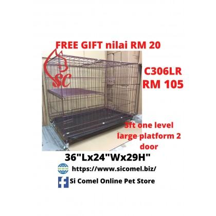 "Cat Cage- 3FT 1 Level Rock Iron 36""Lx24""Wx29""H BIGGER PLATFORM Sangkar Kucing Murah OFFER"