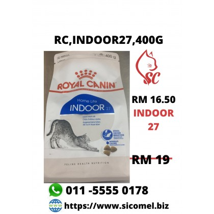 Cat Food- Royal Canin- INDOOR 27, 400g