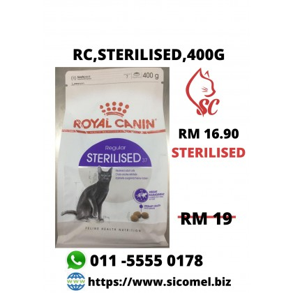 Cat Food- Royal Canin- STERILISED 400g