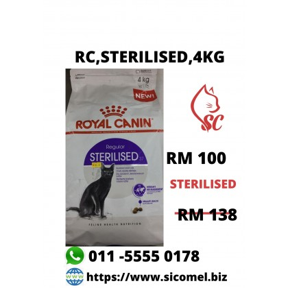 Cat Food- Royal Canin- Sterilised 4kg