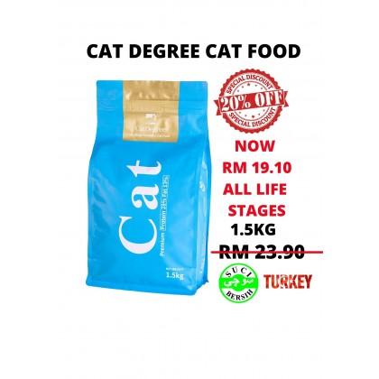 Cat Food- Cat Degree- 1.5kg (Cheapest Offer)