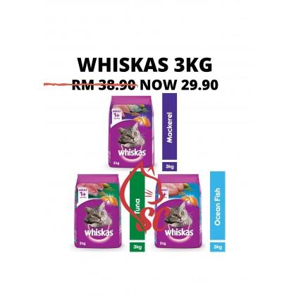Cat Food- Whiskas- Dry Food 3kg