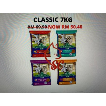 Cat Food- Classic- All Life Stage 7kg